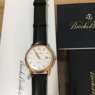 Brooks Brothers watch black 錶 黑色