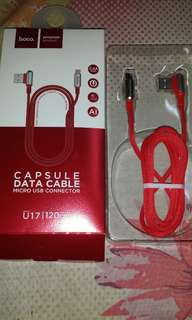 Fast Charge Data Cable ( Red )