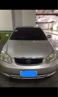 toyota altis 2003 AT GAS negotiable