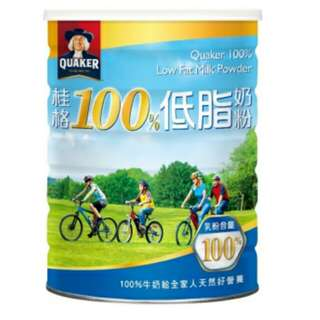 🚚 1500g桂格100%低脂奶粉