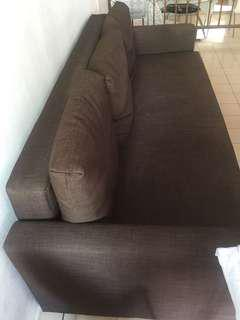 Sofa Bed (Dark Brown color) used for less than 2 years