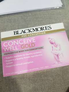 Blackmores Conceive Well Gold (Pre-conception)