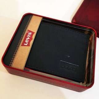 Levi's Mens Leather Wallet