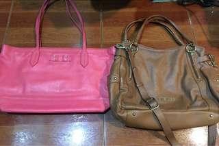 Authentic Sisley and Samantha Thavasa Sling bag not mk coach kate spade mcm