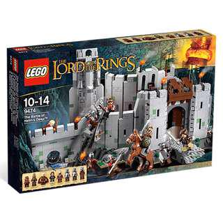 (‼️GSS SALES‼️) LEGO 9474 The Lord of the Rings / LOTR - The Battle of Helm's Deep