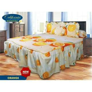 Seprei fresh orange king rumbai kintakun 180*200
