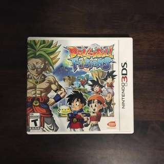 LIKE NEW LATEST DRAGONBALL FUSIONS NINTENDO 3DS