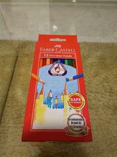 Faber Castell 12 Tri Color Pencils