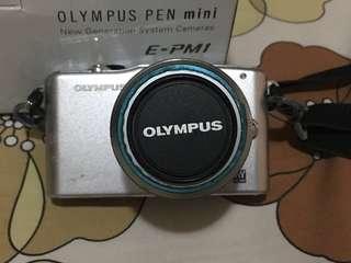 Kamera Olympus PEN Mini E-PM1 Kondisi Bagus