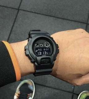 MATTE BLACK GSHOCK WATCH