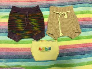 Wool Covers for cloth diapering