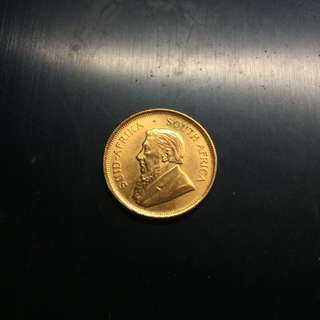 South Africa 1984 1/4 oz gold coin (1)