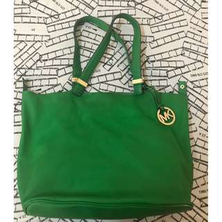 RAYA BARGAIN!! Michael Kors Leather Bag Colgate Green