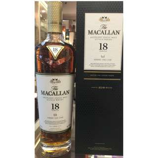 The Macallan 18 Year Old Sherry Oak (2018 Edition)