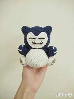 Crochet Snorlax Toy