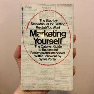 Marketing yourself book