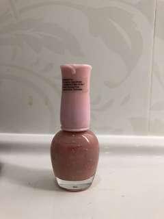 Etude pink nailpolish