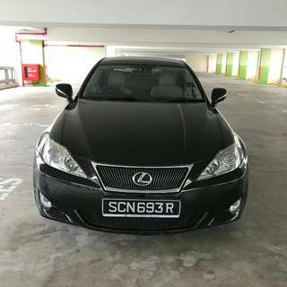 LEXUS IS250 2008/09 NEW FACELIFT LUXURY SPEC