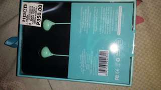 Headset with microphone Jelly type ( Blue )