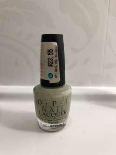 Opi soft green nailpolish