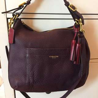 95% new Coach hobo 3-way bag