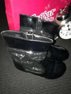 Sugar Kids classy black boots