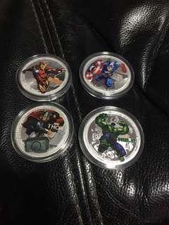 Marvel coin