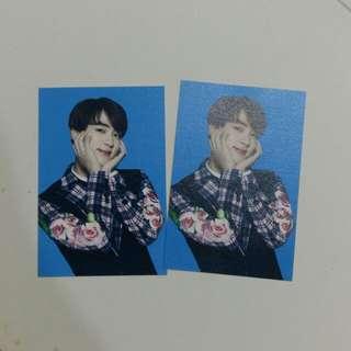 The Wings Tour Mini Photocard (Jin)