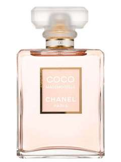 chanel coco mademoiselle original BOX SEGEL