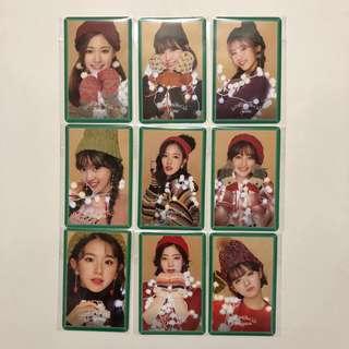 Twice Merry & Happy 專輯 小卡