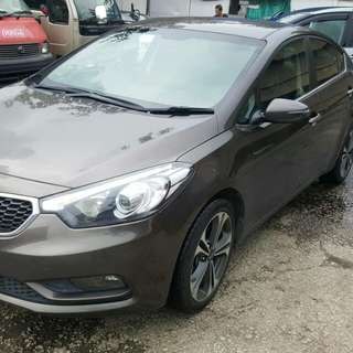 KIA FORTE 2012 SUPER LOW MILAGE