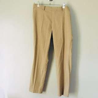 Uniqlo Smart Style Pants (Khaki)