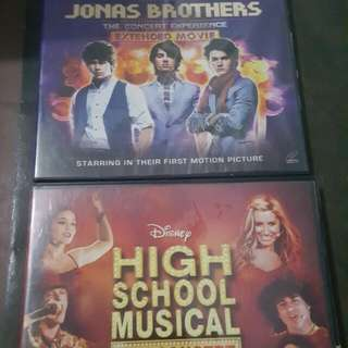 High School Musical & Jonas Brothers Concert