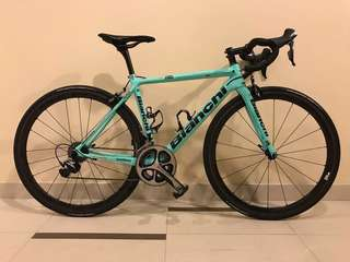Bianchi Specialissima (2017 Team Edition) Frame Set (Value Buy)