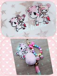 Inspired Hanako Bag Charm