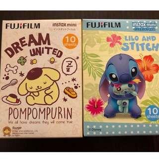 不議價 Fujifilm instax 布甸狗 史迪仔 即影即有相紙