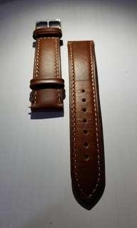 真皮錶帶 20mm 購自瑞典,輕鬆裝拆