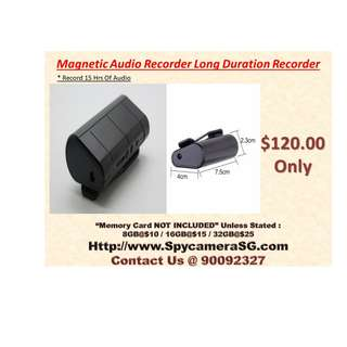Audio Recorder To Record Long Hours