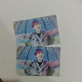 The Wings Tour Mini Photocard (J-Hope)
