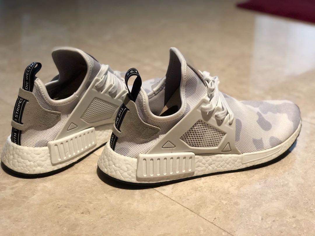 387b2b7b1c225 Adidas NMD XR1 Camo White