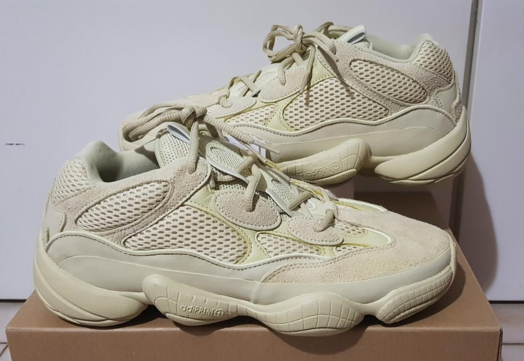 e3a695757f8 US 10) Adidas Yeezy 500 Rat Yellow Moon, Men's Fashion, Footwear ...
