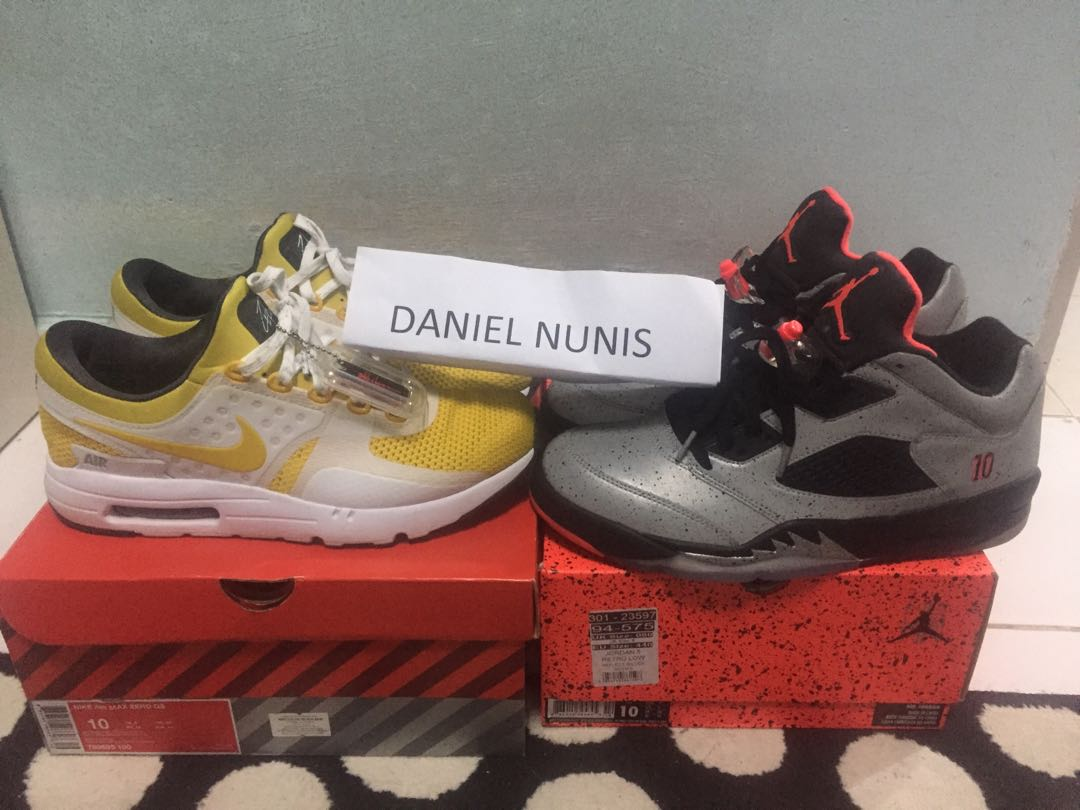486892775aa3b2 Air Max zero   air Jordan 5 low x neymar JR