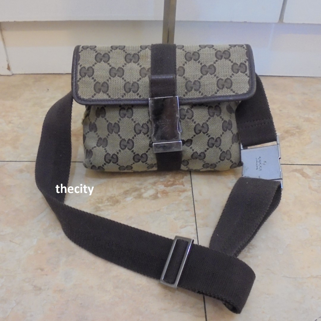 617d598788d7 AUTHENTIC GUCCI WAIST BAG / CROSSBODY BAG, Women's Fashion, Bags ...
