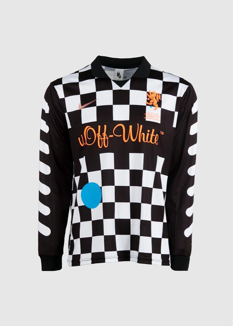 quality design ce0f3 364b7 Authentic Nike x Off-White Football Away Jersey, Men's ...