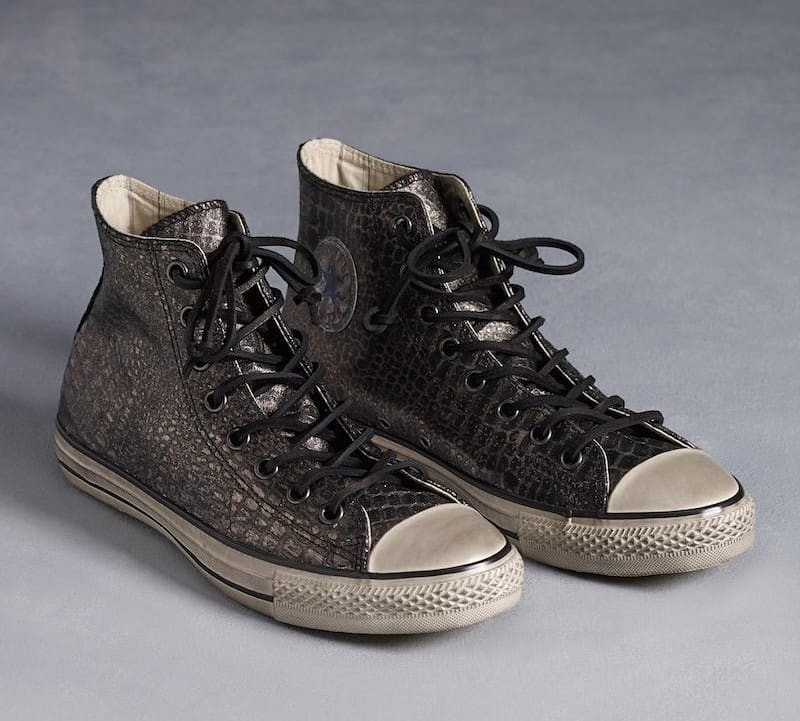 a375e2610abb ... clearance converse x john varvatos snakeskin silver limited edition  fesyen pria sepatu sneakers di carousell 1c352