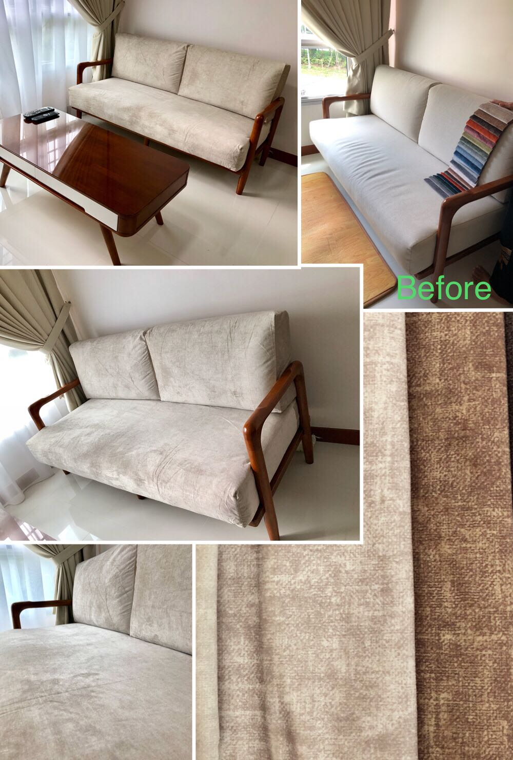 Custom made sofa cushion covers 98167256 furniture sofas on carousell