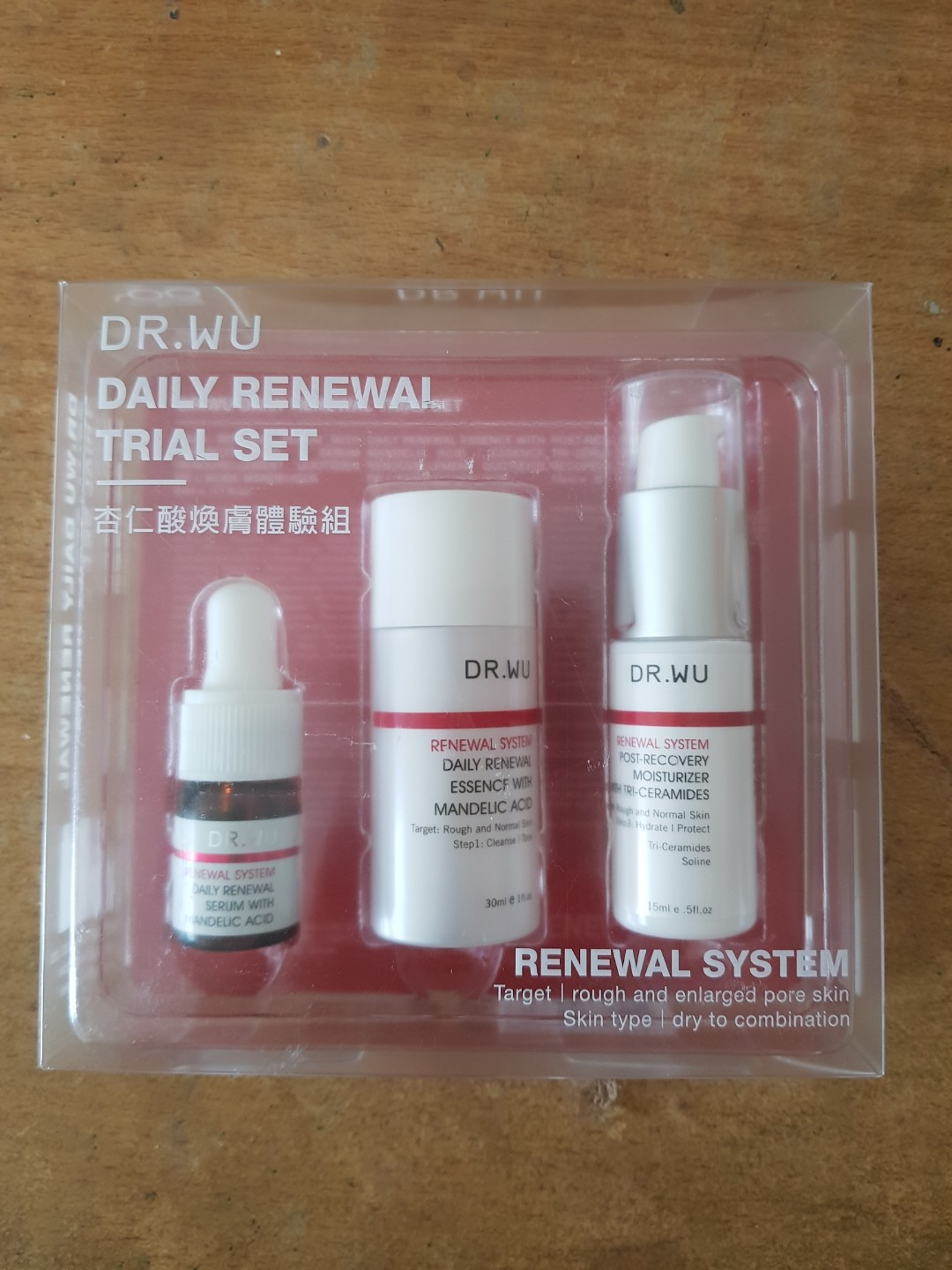 Dr Wu Daily Renewal Trial Set