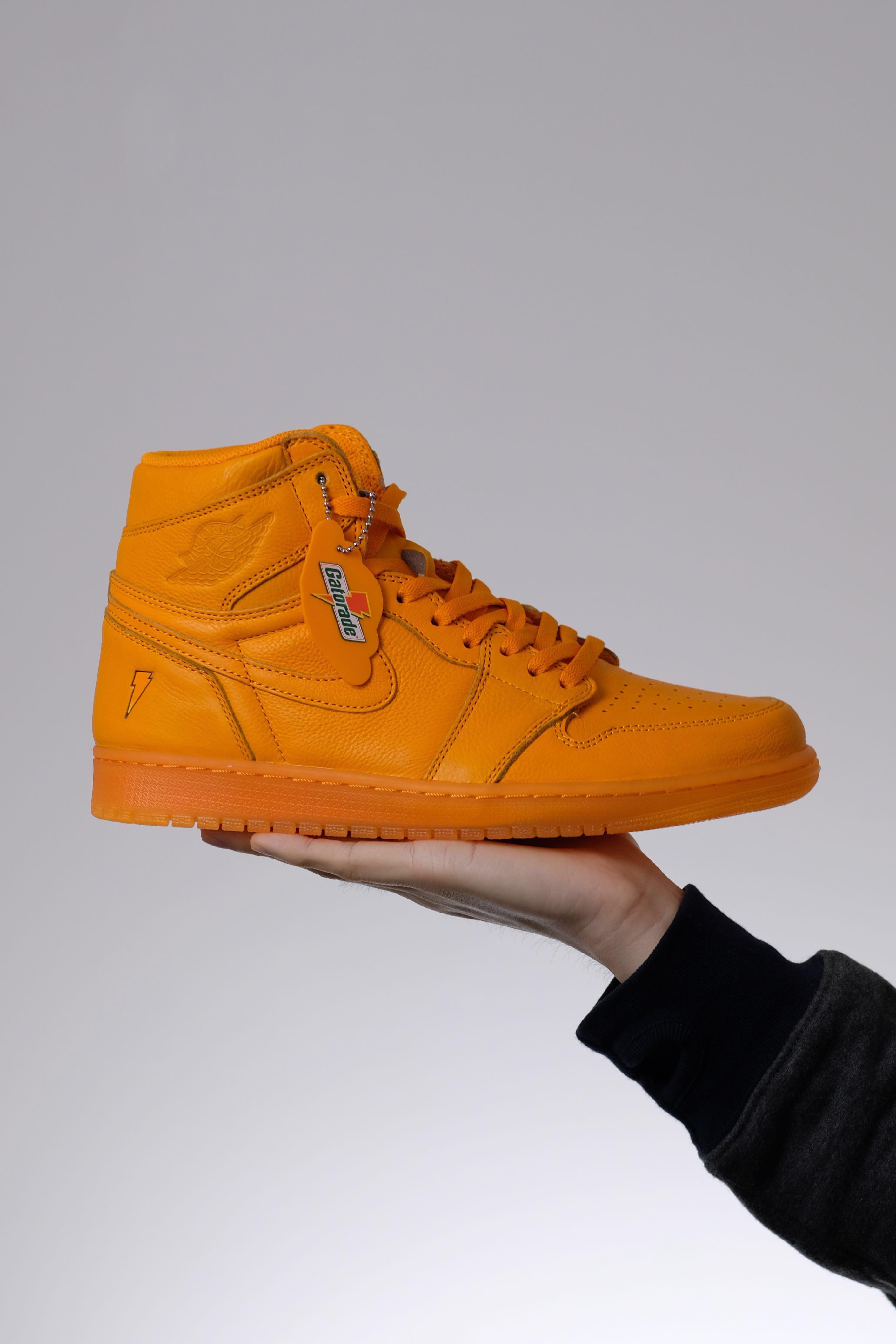 fd159a78526 Jordan 1 Gatorade Orange Peel US10.5, Men's Fashion, Footwear, Sneakers on  Carousell