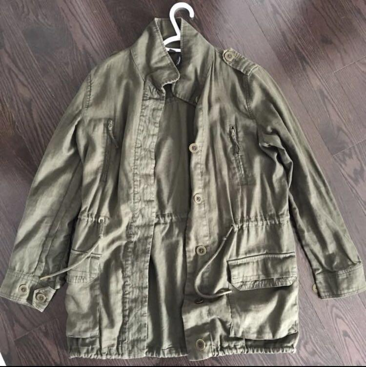 Khaki Green Spring Jacket