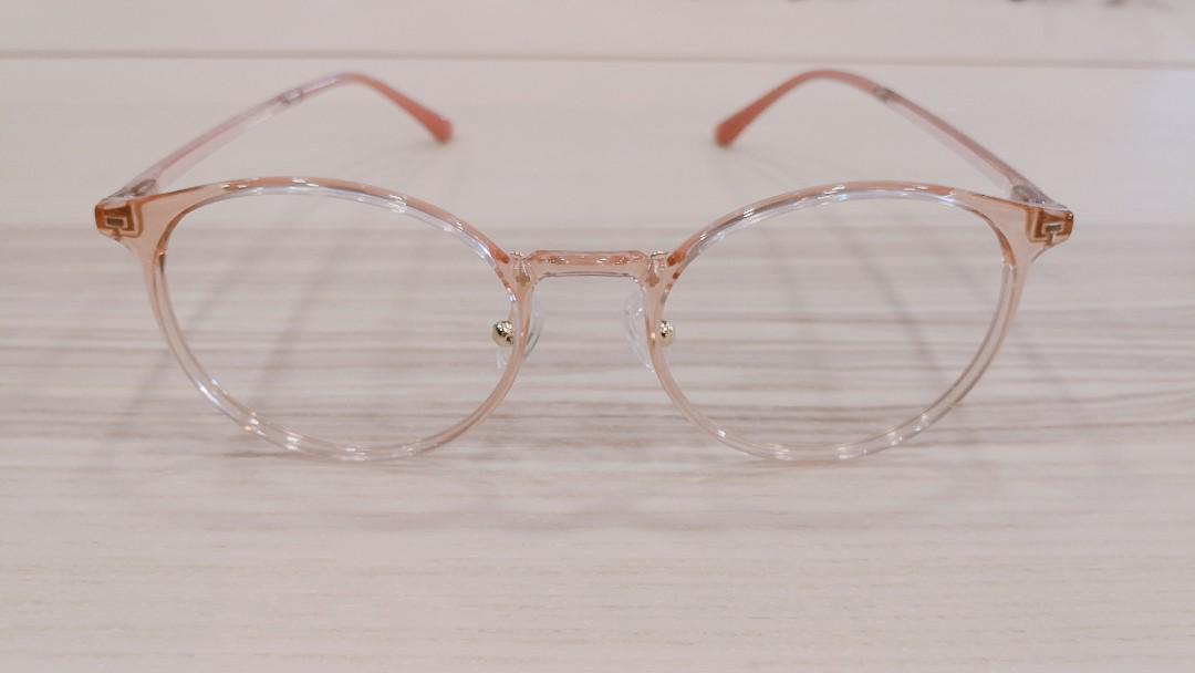Korean Round Plastic Frames S3024